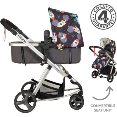 Cosatto Giggle Mix Whole 9 Yards Hold Isofix Bundle - Space Racer1