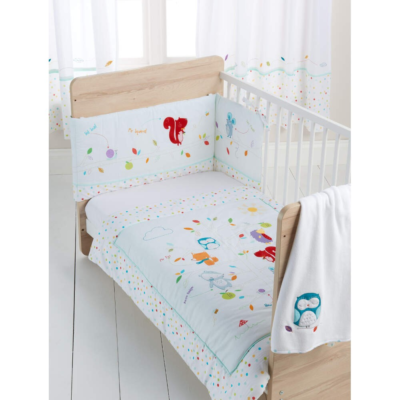 East Coast Sleepy Forest Friends 3 Piece Bedding Set