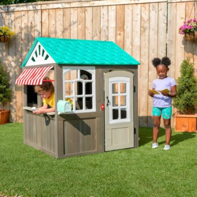 KidKraft Coastal Cottage Playhouse5