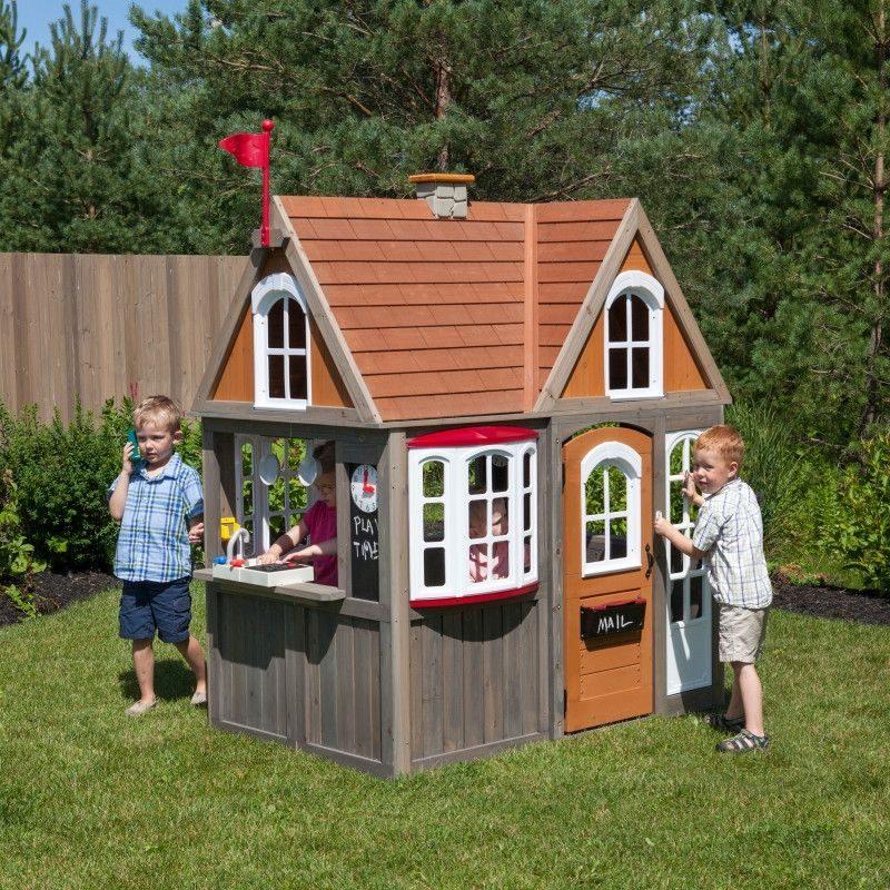 KidKraft Greystone Cottage Playhouse