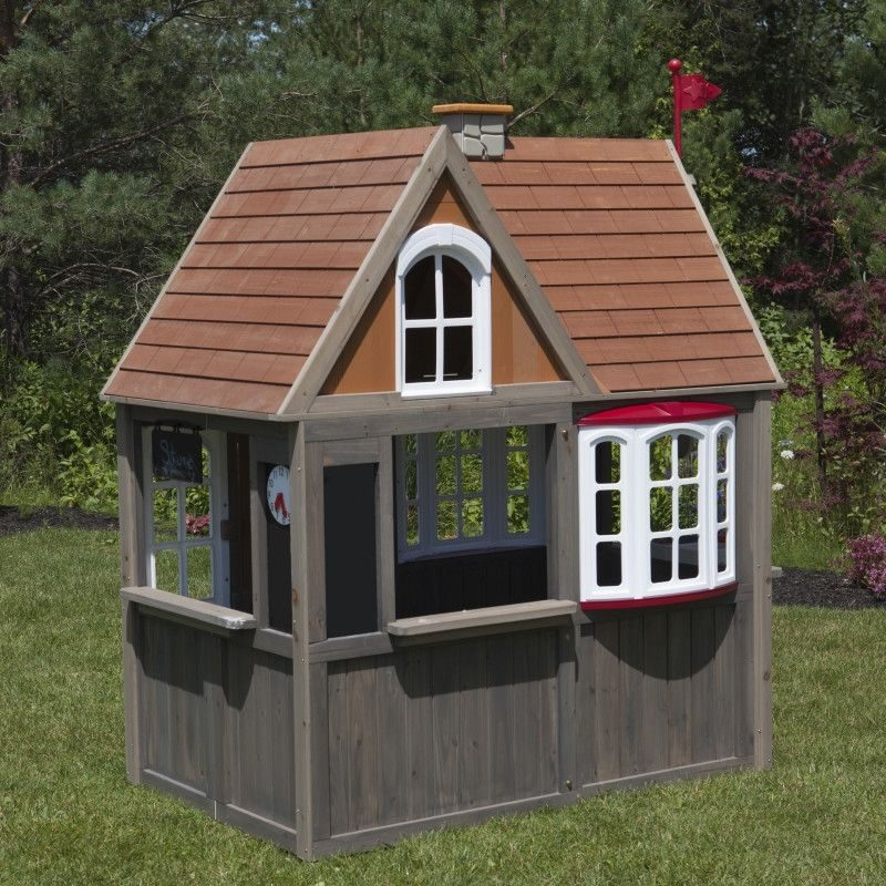 KidKraft Greystone Cottage Playhouse2