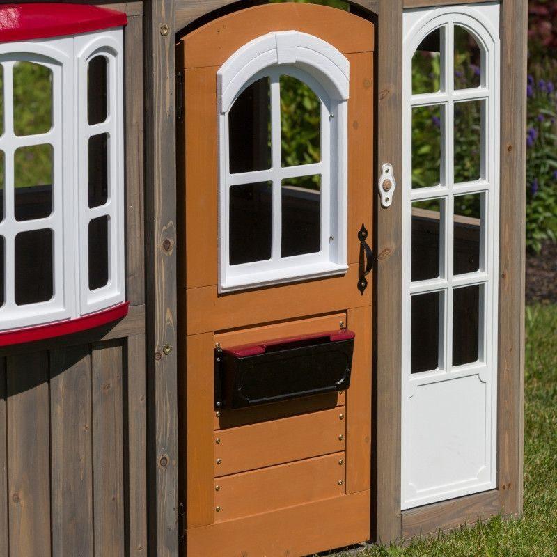 KidKraft Greystone Cottage Playhouse8