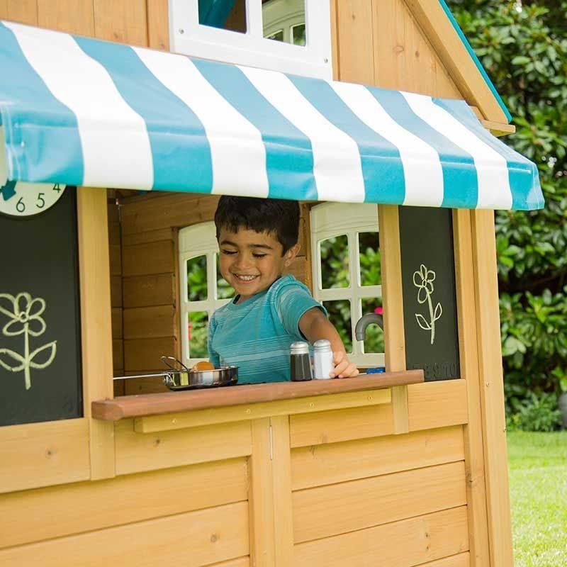 KidKraft Seaside Cottage Playhouse4