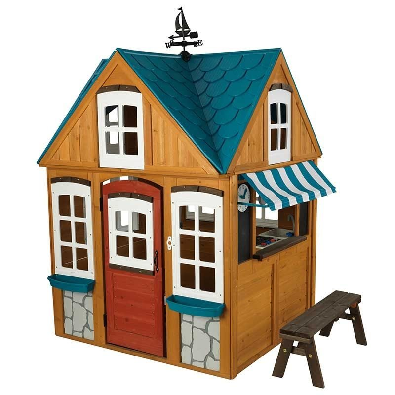 KidKraft Seaside Cottage Playhouse7