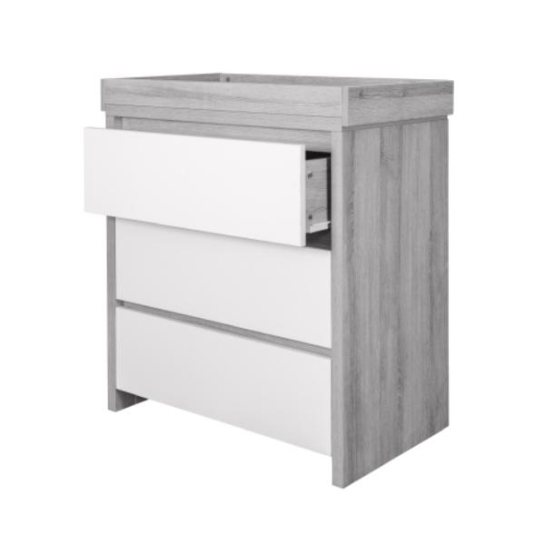 Modena 3 Piece Room Set - Grey Ash White4