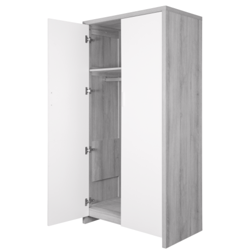 Modena 3 Piece Room Set - Grey Ash White5