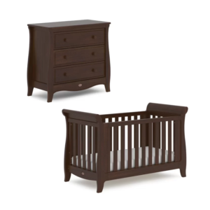 Boori Sleigh Expandable 2 Piece Room Set - Coffee
