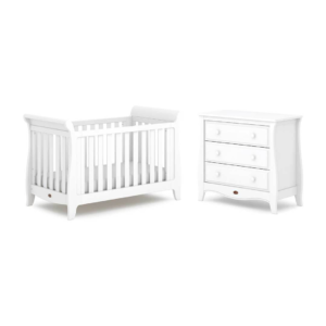 Boori Sleigh Expandable 2 Piece Room Set - Barley White