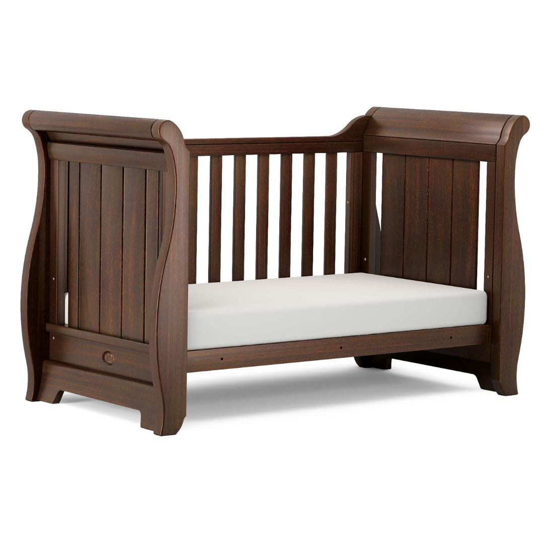 new style f5e43 0fbc6 Boori Sleigh Cot Bed - English Oak