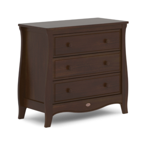 Boori Sleigh 3 Drawer Dresser Smart Assembly - Coffee