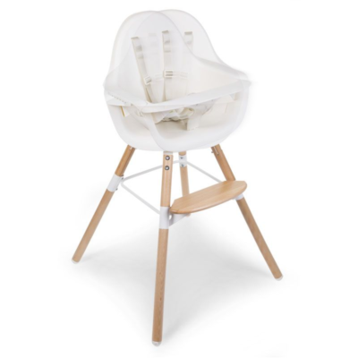 Childhome One.80° 2 in 1 Highchair - White