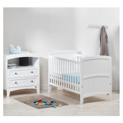 East Coast Acre 2 Piece Room Set - White