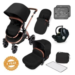 ickle bubba i-size travel system bundle midnight bronze non isofix