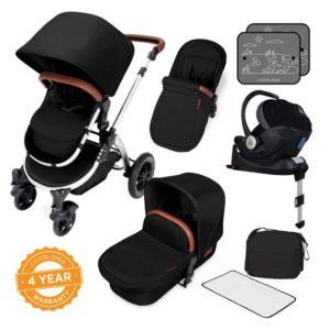 ickle bubba stroller midnight bronze bundle travel system i-size