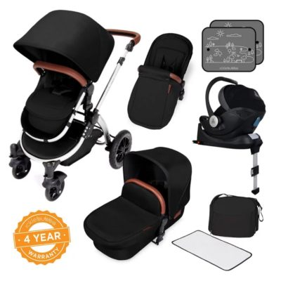 ickle bubba stroller midnight bronze bundle travel system i-size