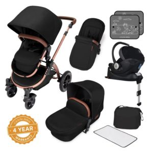 ickle bubba stroller midnight bronze bundle travel system i-size bronze