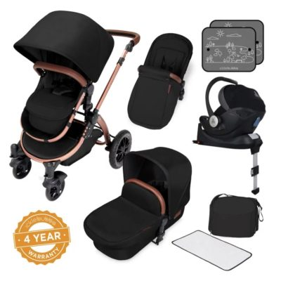 ickle bubba stroller midnight bronze bundle travel system i-size bronze