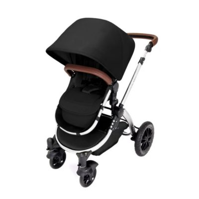 ickle bubba stroller midnight chrome stroller