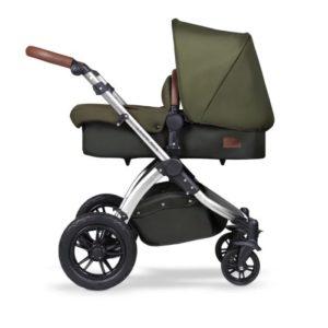 ickle bubba stroller woodland chrome pram