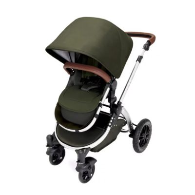 ickle bubba stroller woodland chrome stroller