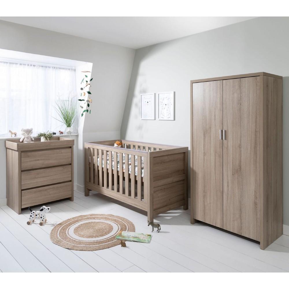 Cool Tutti Bambini Modena Nursery Room Set Builder Oak Creativecarmelina Interior Chair Design Creativecarmelinacom