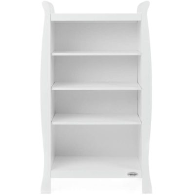 obaby stamford bookcase in white
