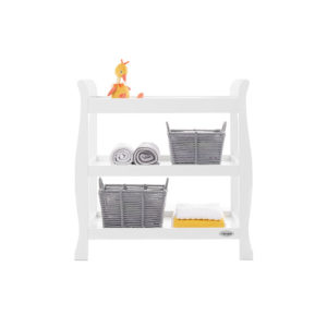 obaby stamford open changing unit in white