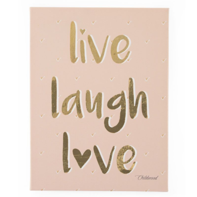 Childhome Oil Painting - Live Laugh Love
