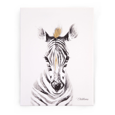 Childhome Oil Painting - Zebra
