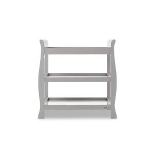 open changing unit warm grey