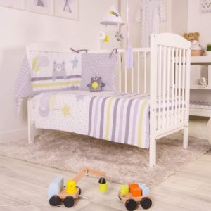 Red Kite 4Pc Cosi Cot Set - In the Night Sky