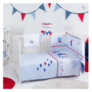 Red Kite 4Pc Cosi Cot Set - Ships Ahoy