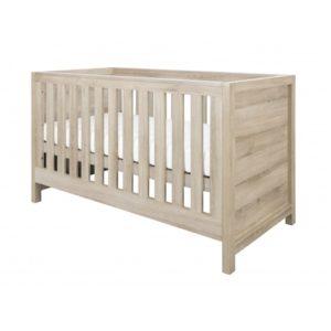 tutti bambini cot bed oak