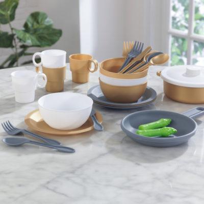 27-Piece Cookware Set kidkraft