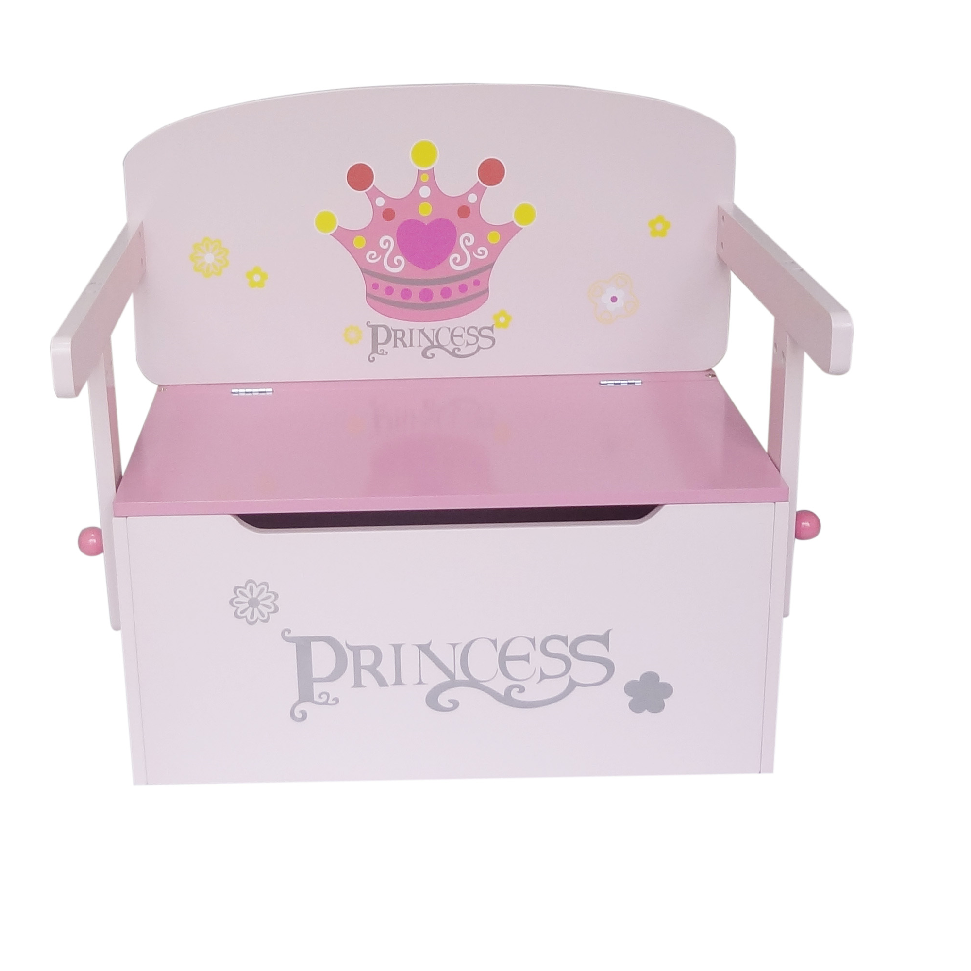 Superb Kiddi Style Childrens Princess Wooden Toy Storage Box And Ocoug Best Dining Table And Chair Ideas Images Ocougorg