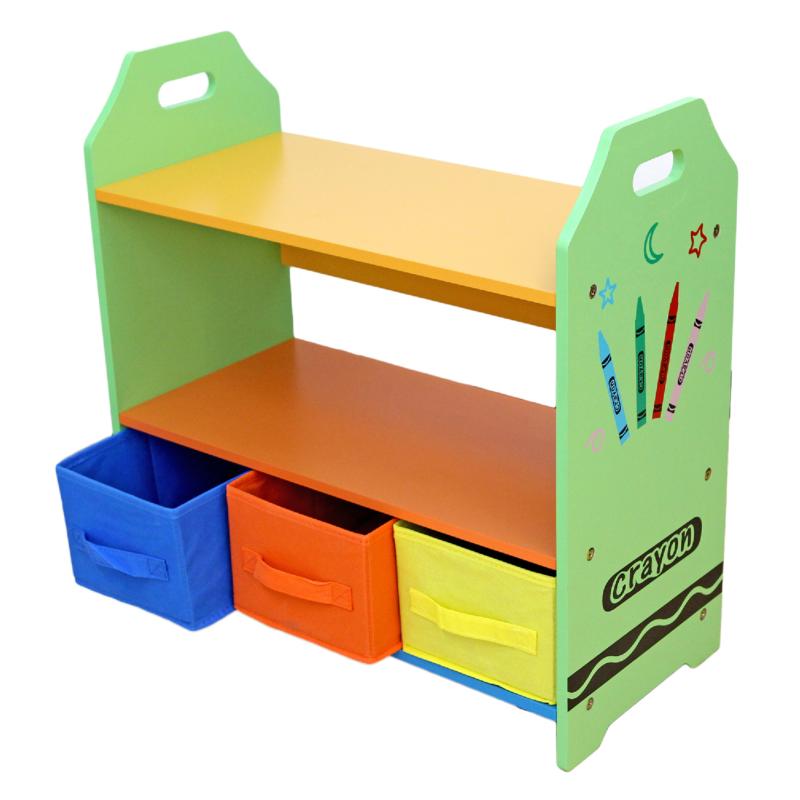 Kiddi Style Crayon Shelves and Storage