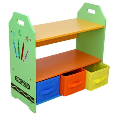 Kiddi Style Crayon Shelves and Storage