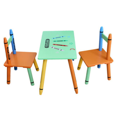 Prime Kiddi Style Crayon Table And Chairs Green Ocoug Best Dining Table And Chair Ideas Images Ocougorg