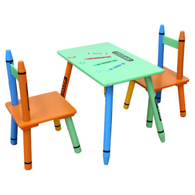 Kiddi Style Crayon Table and Chairs