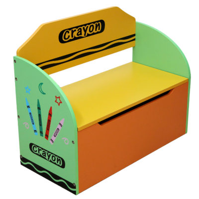 Kiddi Style Crayon Toy Box and Bench