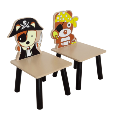 Kiddi Style Pirate Table and Chairs