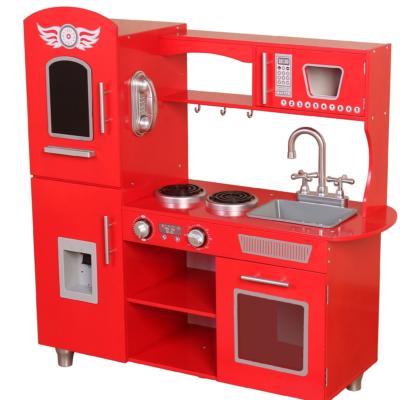 Kiddi Style Supreme Classic Red Chefs Kitchen