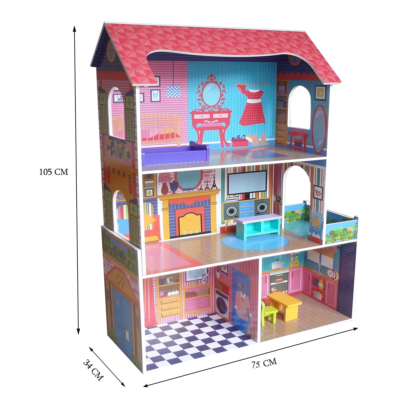 Kiddi Style Supreme Tall Doll Town House