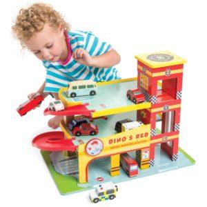 Le Toy Van Dino's Garage 2