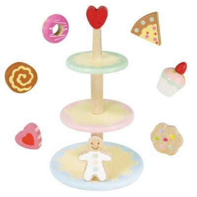 Le Toy Van Three Tier Cake Stand Set 2