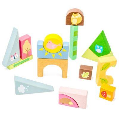 Le Toy Van Woodland Puzzle Blocks 2