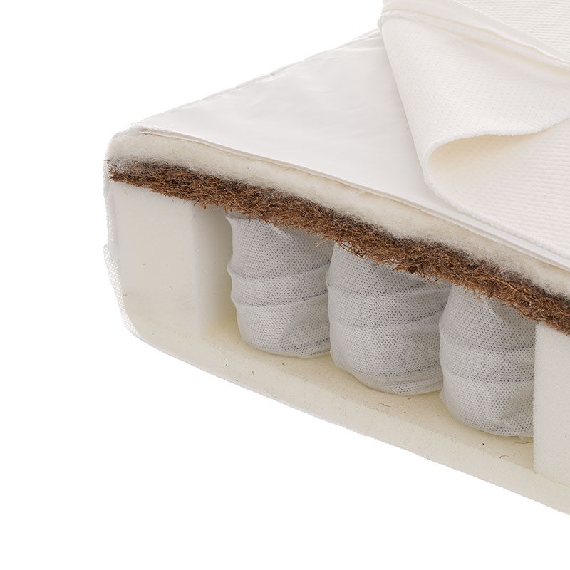 Obaby Moisture Management Dual Core Cot Bed Mattress 140x70cm