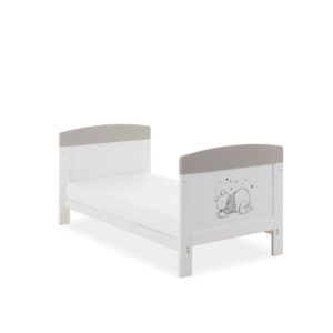 Obaby Winnie the Pooh Mini Cot Bed plus Mattress Options - My Job is Sleeping 2