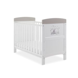 Obaby Winnie the Pooh Mini Cot Bed plus Mattress Options - My Job is Sleeping