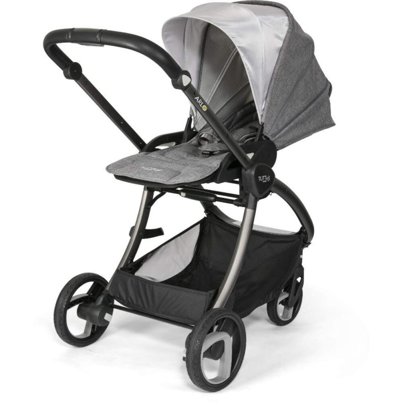 Tutti Bambini Arlo Charcoal 3 in 1 Travel System Charcoal